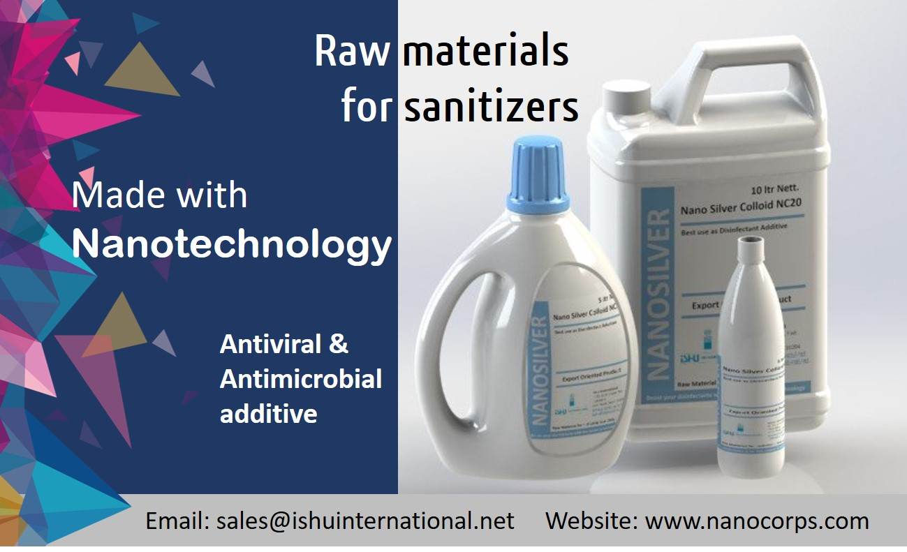 raw materials for sanitizers